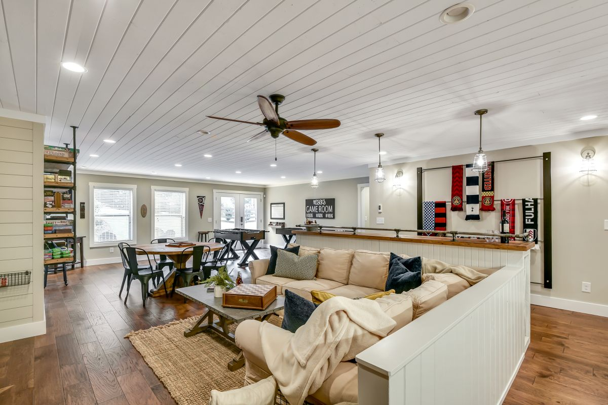 Full Basement Finish | Atlanta Home Renovation | StonecrestWorks