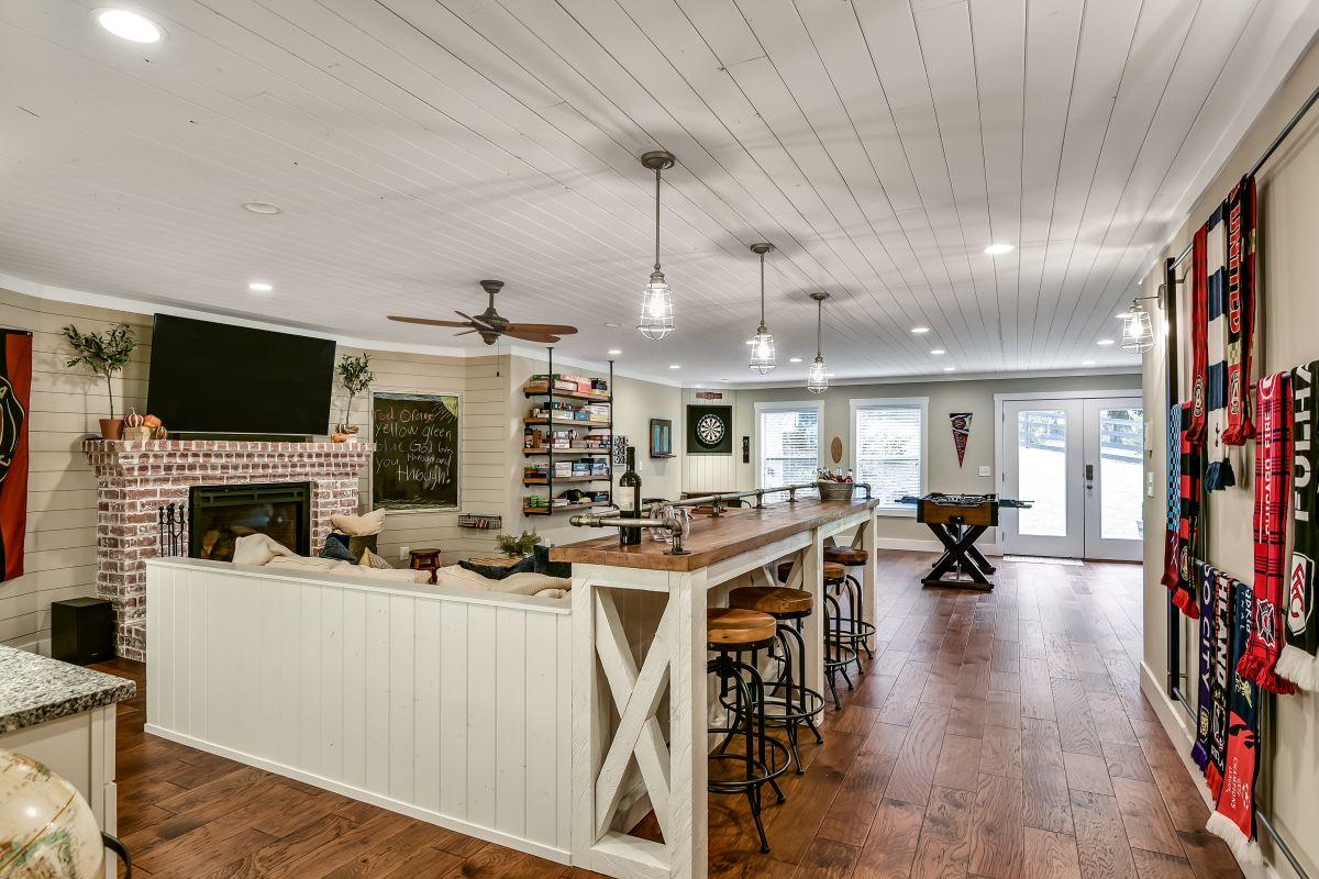 Full Basement Finish | Atlanta Home Remodeling | StonecrestWorks