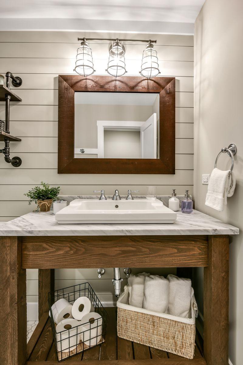 Full Basement Finish with Bed and Bath | Atlanta Home Renovation | StonecrestWorks