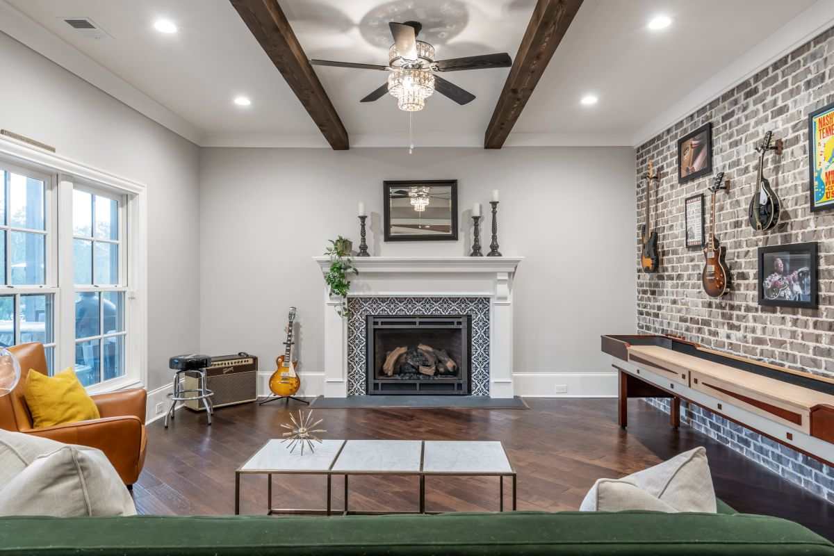 Full Basement Finish | Atlanta Home Renovation | StoncrestWorks