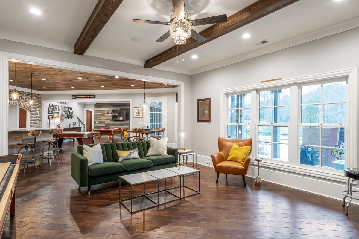 Full Basement Finish | Atlanta Home Renovation | StonecrestWorks