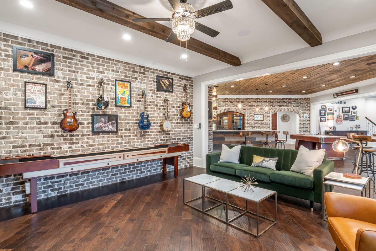 Full Basement Finish | Atlanta Home Remodeling | StonecrestWorks